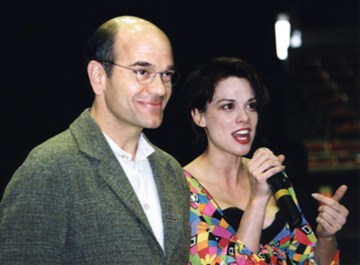 Robert Picardo and Chase Masterson in Johnson City, Tennessee