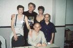 Saturday's panel KITTY SWINK, RENE AUBERJONOIS, CHASE MASTERSON, ARON EISENBERG, ARMIN SHIMMERMAN